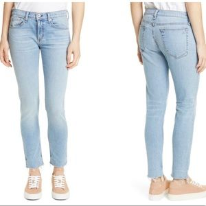 {Rag & Bone} The Dre Slim Fit Boyfriend Jeans NWT